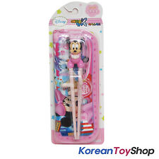 Disney Mickey Mouse - Minnie Training Chopsticks & Zipper Case Set Right Handed