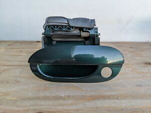 🔥97-03 BMW 5-SERIES E39 M5 Driver Left Exterior Door Handle Green OEM DH17