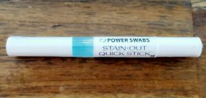 Power Swabs, Stain-Out Quick Stick for Teeth, Sheer Science New/Sealed