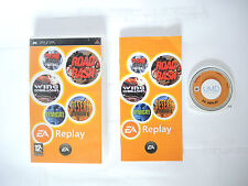 EA REPLAY 14 GAMES IN 1 complete in box with manual Sony PSP game