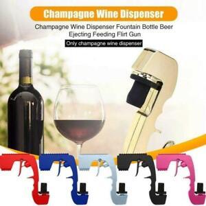 Zinc Alloy Champagne Sprayer Gun Dispenser Beer for Wedding Party