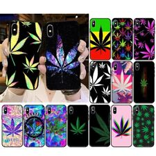 High Weed Cannabis Case cover iPhone 5 6 6S 7 8 + X XR XS 11 12 Pro Max SE 2nd