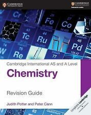 CAMBRIDGE INTERNATIONAL AS AND A LEVEL CHEMISTRY REVISION GUIDE - POTTER, JUDITH