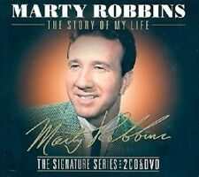 MARTY ROBBINS THE STORY OF MY LIFE 2 CD & DVD COLLECTION 2013