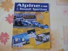 MAGAZINE ALPINE & RENAULT SPORTIVES  N°80 ALPINE A364 F3 1972