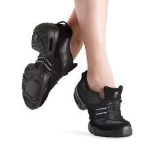 Bloch S0538M Adult Size 13M (Fits Women's Size 11.5) Black Boost Dance Sneakers