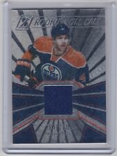 10-11 2010-11 ZENITH TAYLOR HALL ROOKIE ROLL CALL JERSEY RC 3 EDMONTON OILERS