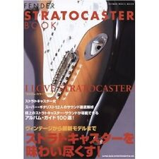 9Japanese GUITAR BOOK  FENDER STRATOCASTER  BOOK 2008 JAPAN RARE very good