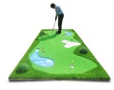 G100 Artificial Indoor Golf Putting Green Practice Mat Indoor Outdoor