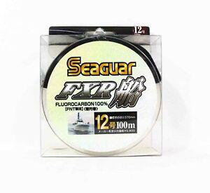 Seaguar FXR Fluorocarbon Leader Linie 100m Size 12 40lb (9368)