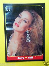 figurines cromos figurine masters cards #49 jerry hall 1993 model moda modelle f