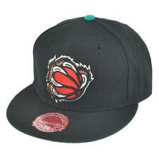 eecb247c54622 NBA Mitchell Ness TK40 Memphis Grizzlies Black Alternate Fitted Hat Cap