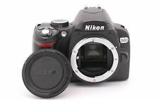 Nikon D60 10.2 MP Digital SLR Camera - Black (Body Only)