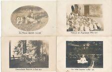 Nr.19423 4x Privat Foto PK schöne Frauen + Kinder   um 1914