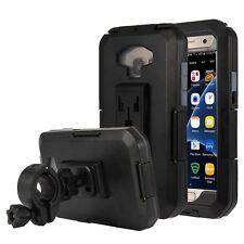 Waterproof Bike Handlebar Mount/Arm Phone Case Cover for Samsung Galaxy S7