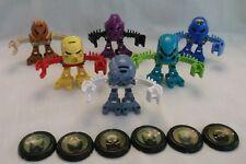 2001 McDonalds LEGO BIONICLE Matoran Tohunga ~ Promotional Toa Matoran Set of 6