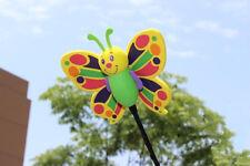 Cute Green Butterfly Antenna Balls Car Aerial Ball Antenna Topper Decor Pen Ball