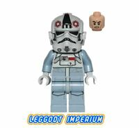 LEGO Minifigure Star Wars - AT-AT Driver grey - sw581 Minifig FREE POST