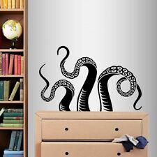 Vinyl Decal Octopus Tentacles Animal Ocean Bathroom Bedroom Wall Sticker 771