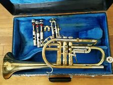 King HN White Super 20 Master Cornet  with mouthpiece