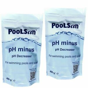 PoolSan pH Minus pH reducer and alkalinity reducer 800gr for pools & hot tubs