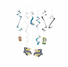 OKTOBERFEST HANGING MEGA SWIRL PACK (SET OF 30) PARTY DECORATIONS