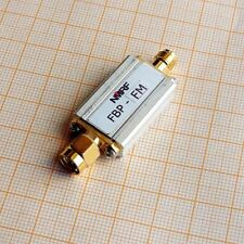 NEW 88~108MHz band-pass filter, FM broadcast bandpass filter, SMA interface