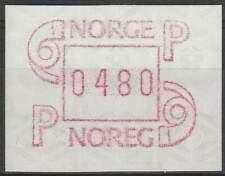 Noorwegen postfris automaatzegels 1986 MNH A3 (13)
