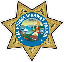 California Highway Patrol CHIP Decals / Stickers