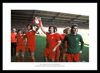 Liverpool 1973 League Champions Team Celebrations Photo Memorabilia (965)