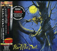IRON MAIDEN-FEAR OF THE DARK-JAPAN CD+FIGURE Ltd/Ed N18