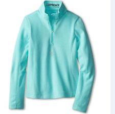 Spyder Kids Girls' Le Grande Velour Fleece T-Neck Shirt Size XXL (20 Girls) NWT