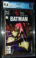 BATMAN #406 1987 D.C. Comics CGC 9.6 NM+