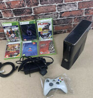 xbox 360 slim And 6 Games