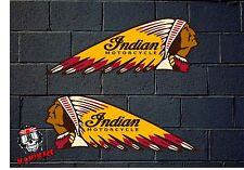 PEGATINA STICKER  ADESIVI AUFKLEBER DECAL ADESIVO INDIAN MOTORCYCLE VINTAGE