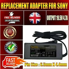 SONY VAIO VGP-AC19V20 LAPTOP 90W 19.5V AC ADAPTER POWER SUPPLY CHARGER