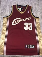 NWT Adidas Shaq Shaquille O'Neal Cleveland Cavaliers Cavs L NBA Authentic Jersey