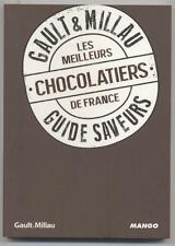 NEW BOOK GAULT & MILLAU THE MEILLEURS CHOCOLATIERS FRANCE GUIDESAVEURS 2013