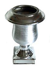 "Magnificent SIlver Metal Urn - 11"" (27cm) High"
