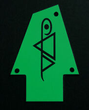 GUITAR TRUSS ROD COVER - Custom Engraved - Fits IBANEZ - Jem STEVE VAI - GREEN