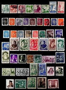 PORTUGAL: 1940'S STAMP COLLECTION