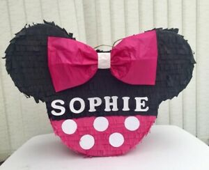 Minnie Mouse Piñata Girls Kids Party Games Birthday