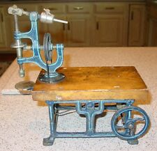 Marklin iron & wood toy live steam engine drill press------------15402