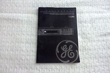 Manual ONLY GE Spacemaker 7-5295 English French Spanish