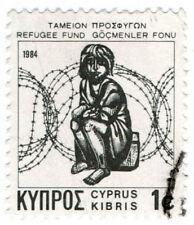 (I.B) Cyprus Cinderella : Refugee Fund 1c (1984)