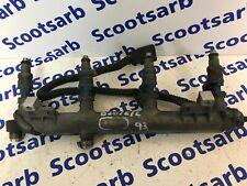 SAAB 9-3 93 Fuel Rail Assembly 4x Injectors 2003 - 2006 12790824 B207E B207L