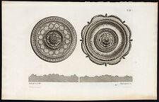 Antique Print-DESIGN-ORNAMENTS-DECORATION-LALONDE-PLATE 82-Pequegnot-1858