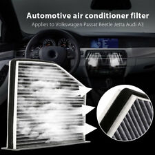 Carbon Fiber Cabin Air Filter Fit for VW Passat Jetta GTI Golf Beetle Audi A3-TT