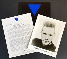Public Image Ltd Greatest Hits, So Far Rare Press Kit '90 Virgin PiL Sex Pistols