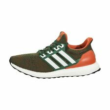 bc0d40be3531e Ee3702 Mens adidas Ultraboost - Miami Hurricanes Ultra Boost Men Size 10